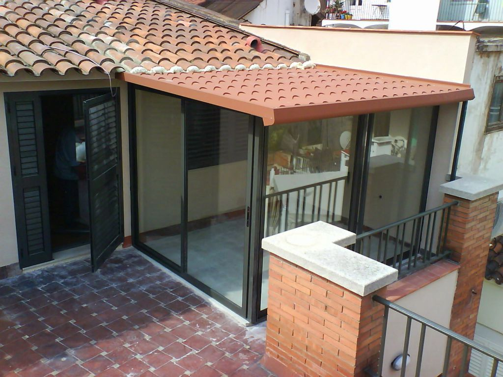 Cerramientos de exterior para terrazas ticos y balcones - Cristalerias en sevilla ...